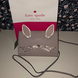 Kate Spade rabbit winni wallet crossbody bag